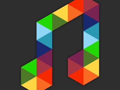 DeezUp Note deezup note logo triangle deezer playlist collaborative