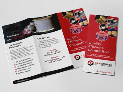 Multipurpose Tri Fold Brochure Design