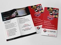 Multipurpose Tri Fold Brochure Design