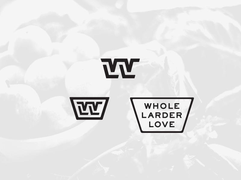 WLL Industrial logo illustrator vector mark branding