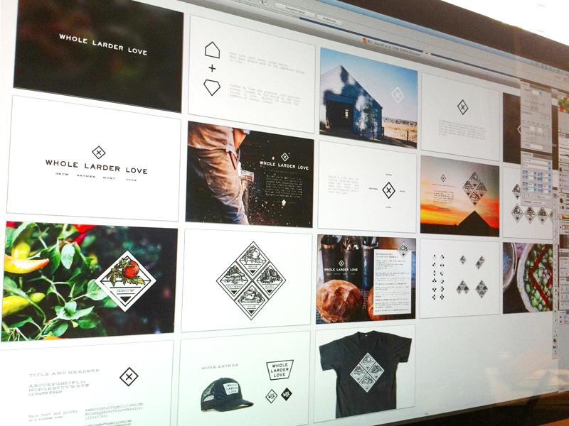 WLL Board logo illustrator vector mark branding board elements