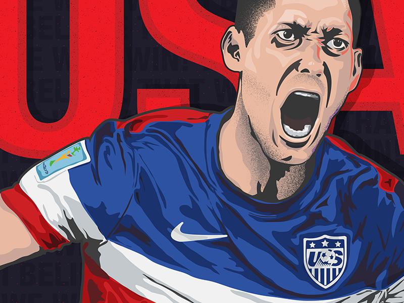 USA USA vector illustration sports soccer usa