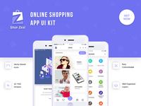 Online Shopping App UI Kit
