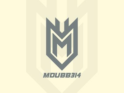 MDUBB initial logo