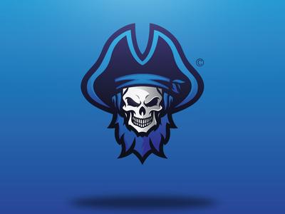 Skull Pirate Logo Concept