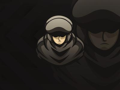 Thief Mascot Logo Concept