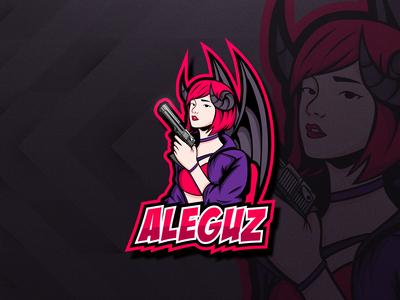 AleguzYT Logo