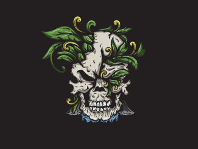 Skull - Illustration Concept