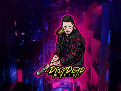 DropDeadHero83 Logo Concept