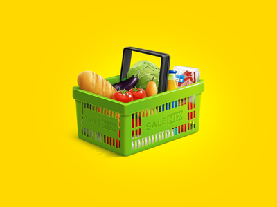 Shopping cart icon icons cart shop shopping bread juice meat tomato cabbage eggplant pear