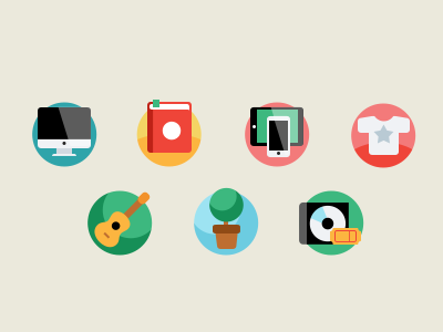 Simple icons 1