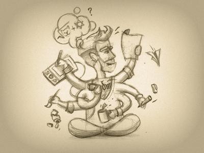 WIP: Illustrator Scetch