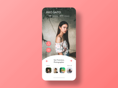 Daily UI - 006 - User Profile