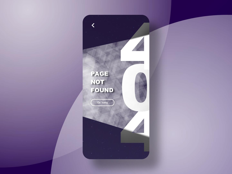 Daily UI - 008 - 404 page sketch appdesign app userinterfacedesign userinterface uidesign design ui dailyui008 dailyui