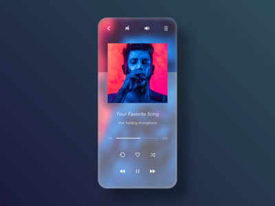 Daily UI - 009 - Music Player