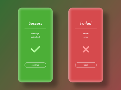 Daily UI - 011 - Flash Message