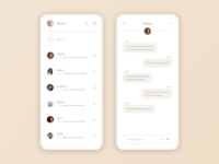 Daily UI - 013 - Direct Messaging