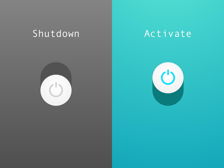 Daily UI - 015 - On/Off Switch sketch appdesign app userinterfacedesign userinterface uidesign design ui dailyui015 dailyui