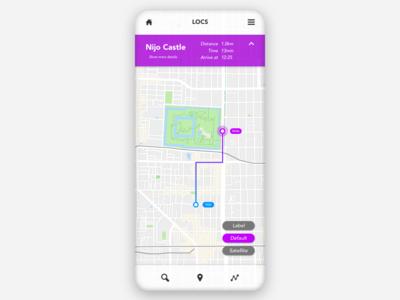 Daily UI - 020 - Location Tracker