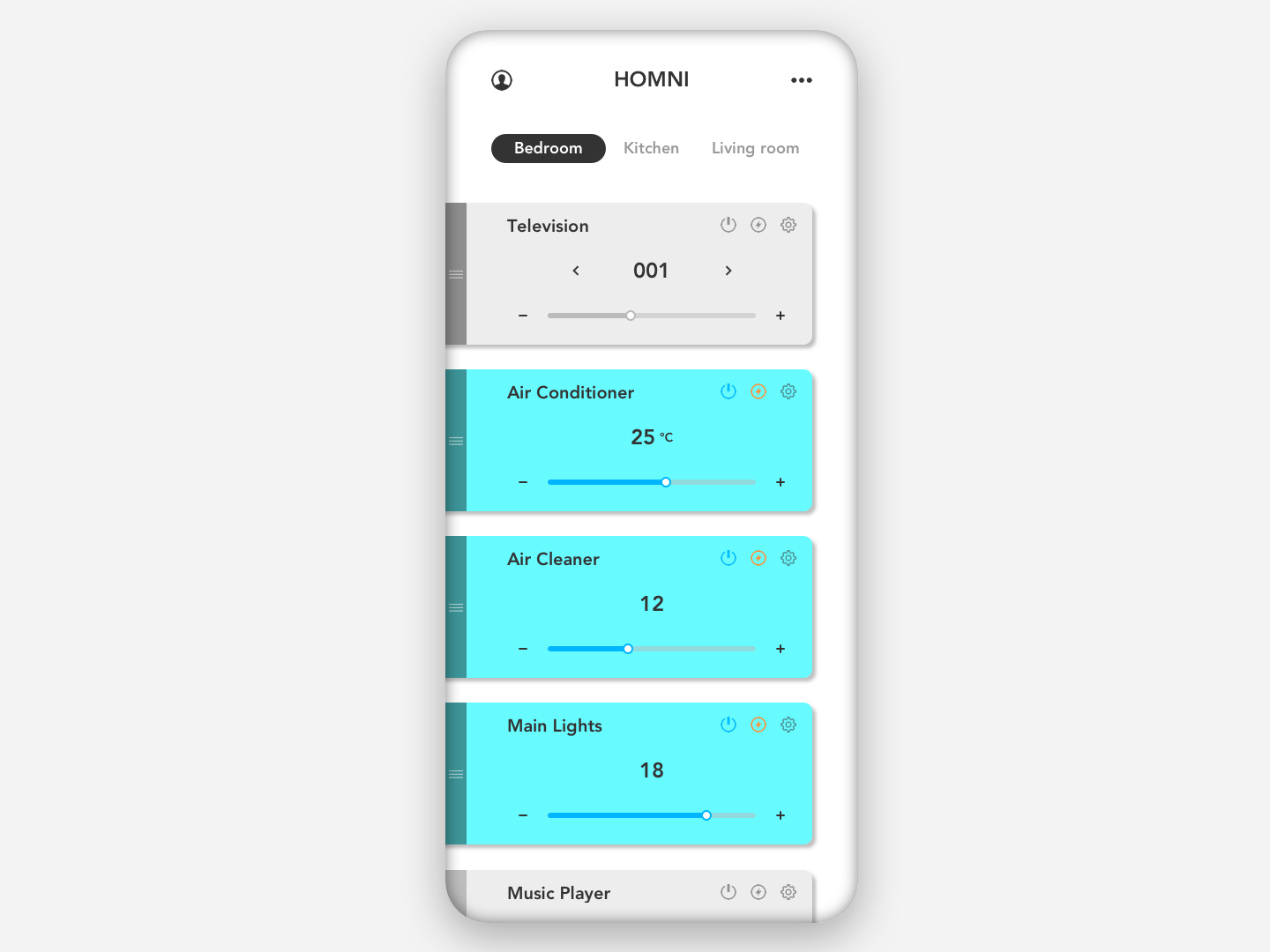 Daily UI - 021 - Home Monitoring Dashboard sketch appdesign app userinterfacedesign userinterface uidesign design ui dailyui021 dailyui