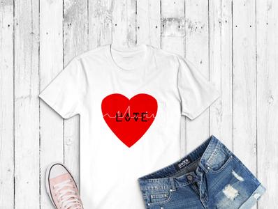 Broken T- Shirt Design