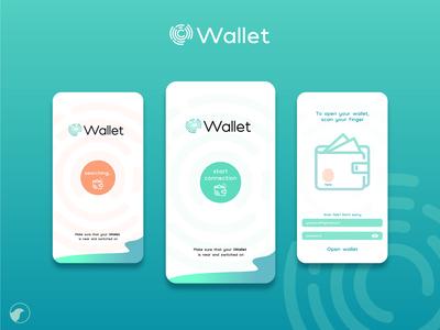 i wallet app design