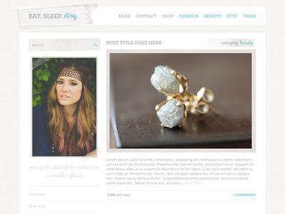 EatSleepEtsy Blog & Web Design