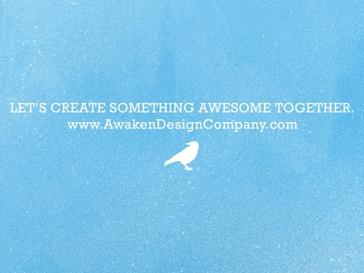 Let's Create Something Awesome Together