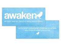 Awaken Design Company - Business Cards