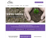Combest Dentistry Wordpress Site