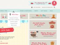MSM Shopify Navigation & Header