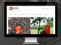(Recycled Firefighter) Shopify Website Design