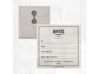 (MM) Gift Certificate Design