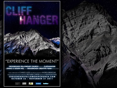 Cliffhanger Sermon Series Movie Poster