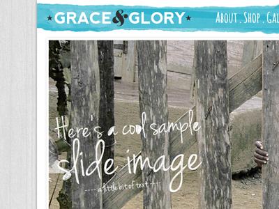 G g bigcartel website design
