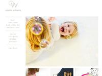 Odette Williams Bigcartel Online Store Design