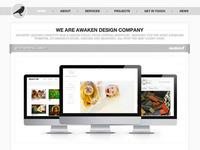 Awaken Design Company Homepage