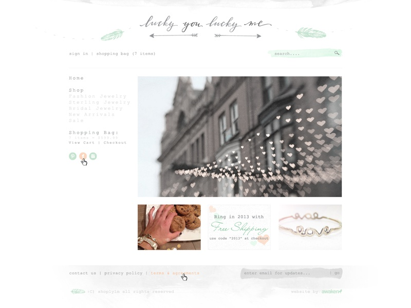 LYLM Shopify Design by Awaken Design Company | Dribbble
