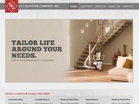 D-C Elevator Website Design