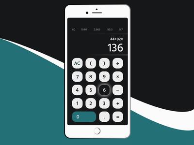 #DailyUI 004 Calculator