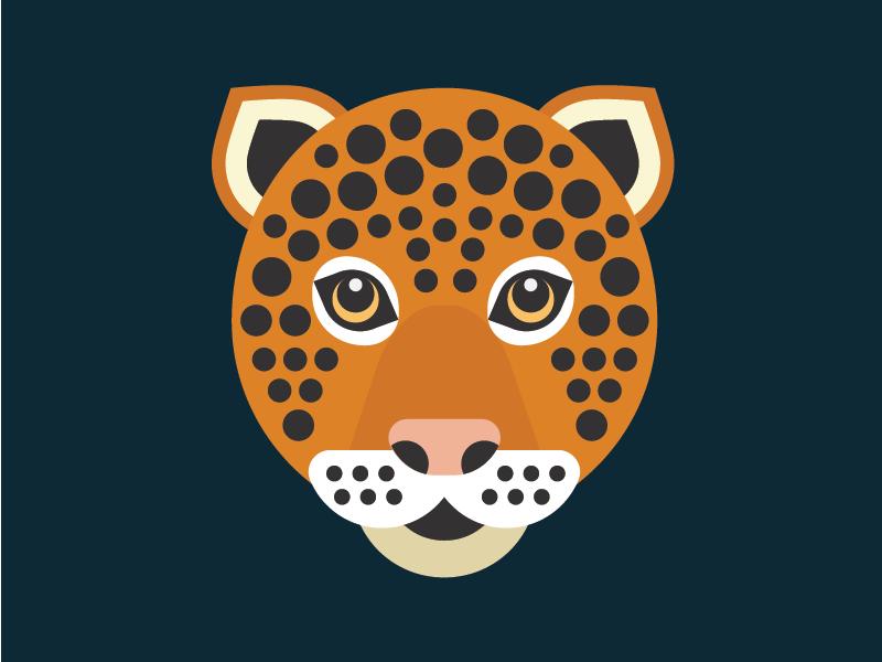 Jaguar vector illustration leopard cat jaguar