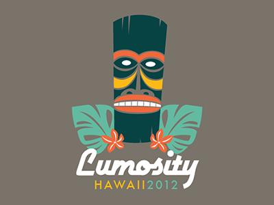 Hawaii T-Shirt Design t-shirt hawaii tiki mask vector illustration tee tshirt lumosity