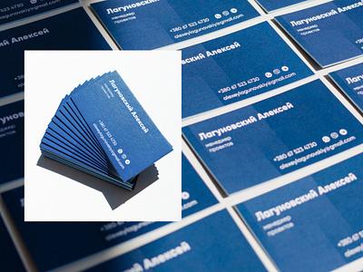 Business Card for PM illustrator photoshop business card figma card branding logo graphic design ui