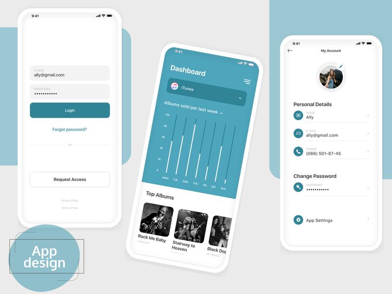 App design app design app flat web deisgn ui kit ui guide ui desgin figma design ui