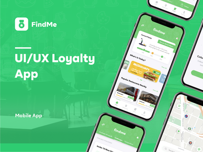 FindMe | UI/UX Loyalty App