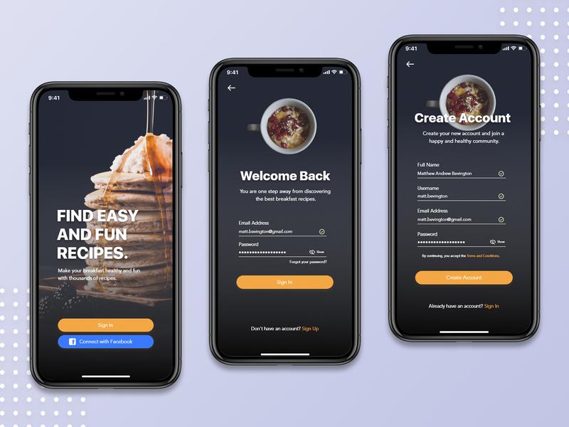 MorningBreak - Food App