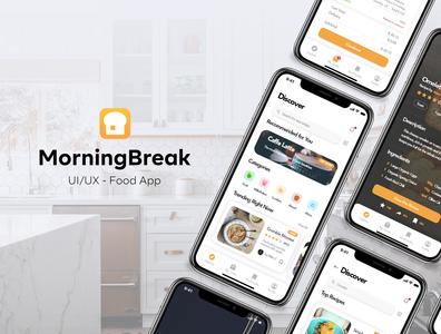 MorningBreak - UI/UX Food App