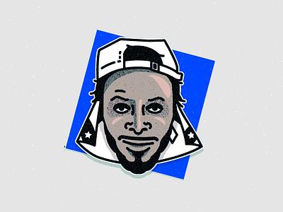JPEGMAFIA - Veteran design vector art music fanart illustration photoshop illustrator rapper rap