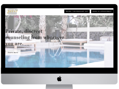 Privé Counseling Luxury Website