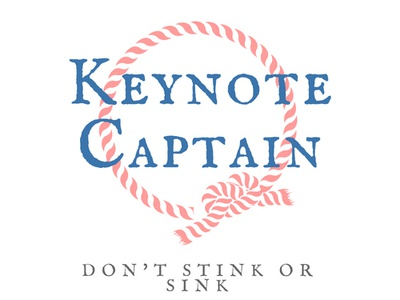 Keynote Captain Logo Concept service unique design tagline theme design concept logo design logo luxury logo branding upscale high end luxury branding